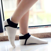 Women Fashion High Quality Sport Ankle Protect Foot Five Fingers Toe Socks SU