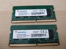 NEW: ADATA 8GB (2X 4GB Memory Modules) PC4-2400T DDR4 (For laptops)