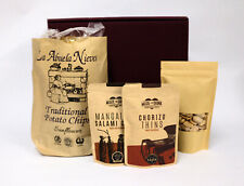 Snacks Gift Set - Crisps, almonds for Beers, Wine, Party food FREE DELIVERY