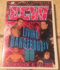 DVD ECW Living Dangerously 2000, Rhino, Lance Storm, Super Crazy, Sandman