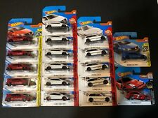 Hot Wheels Honda Lot Of 18 Cars. All Short Cards!! Type R, Civic EF, & CR-X.