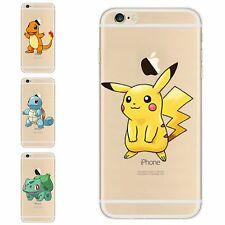 for iPhone Models Custom Cute Cartoon Gel Tpu Silicon Anime Case from Pokemon Go