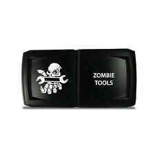 CH4x4 Rocker Switch V2  Zombie Tools Symbol 5 - Horizontal - Red  LED
