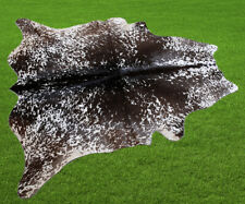 """100% New Cowhide Rugs Area Cow Skin Leather (47"""" x 47"""") Cow hide SA-7009"""