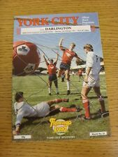 02/02/1991 York City v Darlington  (Team Changes, Marked)