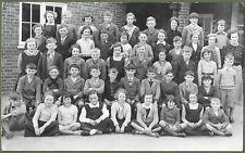Gosport Junior School, Hampshire. Super Class Photo. Lawrence of Gosport c1940s.