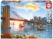 EDUCA JIGSAW PUZZLE BROOKLYN BRIDGE DOMINIC DAVISON 4000 PCS #16782