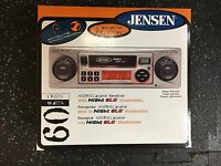 A Vintage JENSEN Car Stereo with Cassette Plus AM/FM Radio NightGlo CR225X x 4