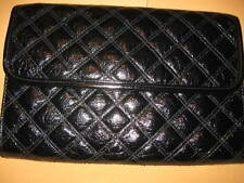 Nice NINE WEST black CLUTCH purse retractable handle handbag