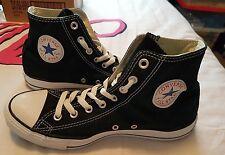 Negro Converse All Star Hi Tops Talla 4