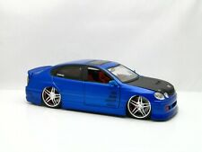 Jada Import Racer ~ Lexus GS430 ~ No logo on hood HTF ~ 1:24 scale