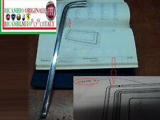 CORNICE MODANATURA PARABREZZA DESTRA FIAT 1100 R FAMILIARE MOLDING WINDSHIELD RH