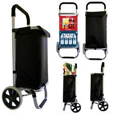 Einkaufswagen Einkaufstrolley Trolley Einkaufsroller Aluminium klappbar Tasche