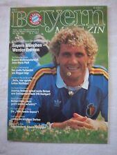 Orig.PRG   1.Bundesliga  1987/88   FC BAYERN MÜNCHEN - WERDER BREMEN  !!  SELTEN