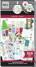 The Happy Planner Planner Stickers, Winter, 514