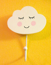Sweet Dreams Cloud Hook Weather Cute Kids Childs Bedroom Hanger Homeware Gift