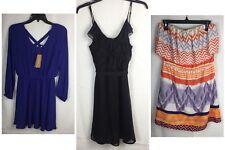Lot 3 Dresses Women's Medium Includes Miami (NEW) Glam & Old Navy Stretch Waist