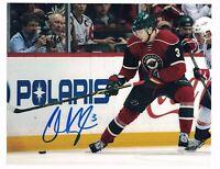 """Charlie Coyle Minnesota Wild Autographed 8"""" x 10"""" Photo W/COA F"""