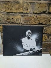 Ray Charles stencil art canvas