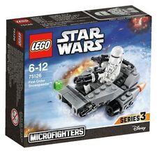 NEU Lego Star Wars Microfighters-Lego 75126 erster Ordnung Snowspeeder-Serie 3