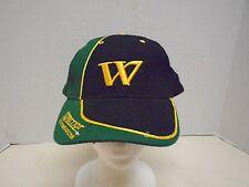 Warrior Custom Golf Com Hat Cap Baseball Golf Black Green Gold W