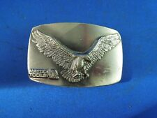 Limited Edition Matco Tools Eagle Pewter Great American Buckley Belt Buckle