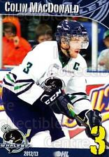 2012-13 Plymouth Whalers #17 Colin MacDonald