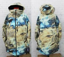 New 2017 Burton Mens Hilltop Snowboard Jacket Medium Water