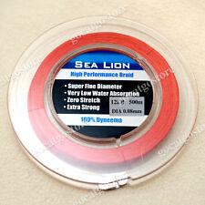 NEW Sea Lion 100% Dyneema Spectra Braid Fishing Line 500M 12lb Red