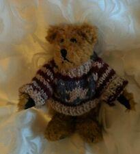 VTG Boyds TEDDY BEAR Eddie Bean Bauer Patriot Star Sweater