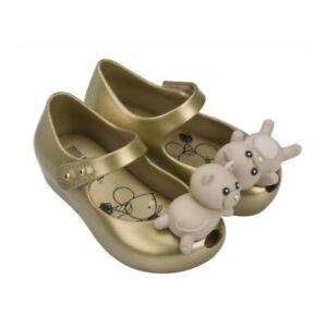 Baby Mädchen Sommer Sandalen süße Katzenfigur Kitty gold 22/23 13 cm wasserfest