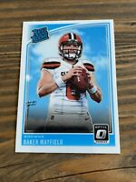 Baker Mayfield 2018 Panini Donruss Optic Rookie rated Rookie Rc Browns