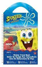 Trends Spongbob Sponge on the run Sticker Book Travel and Rainy Day Activity Kid