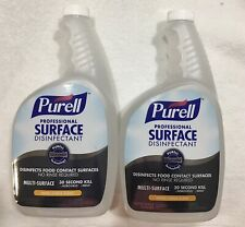 2 Professional Food Contact Surface Spray 32oz Sealed No Leak Cap 2 FAST SHIP