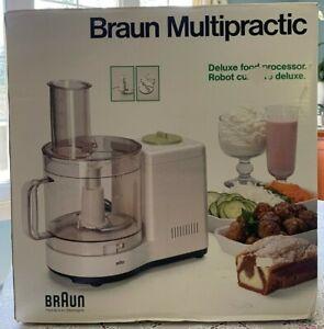 Braun Multipractic Vintage Food Processor Model 4259