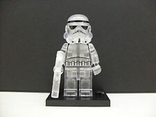 Custom LEGO Star Wars Transparent Clear Stormtrooper Minifigure Building Blocks