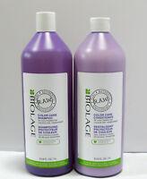 Biolage RAW Color Care Shampoo & Conditioner 33.8 oz Liter Set Duo PACK Matrix