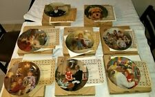 Lot of 7 Annie Knowles Collector Plates with Coa & Boxes + 1 Benji The Dog Plate