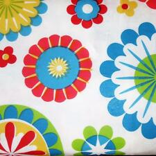 52x70 Oblong VINYL TABLECLOTH~Flannel Back~Flowers/Birthday/Easter/Retro~NEW