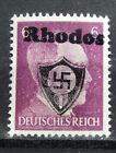 Local Deutsches Reich WWll Propaganda,Private overprint Rhodos MNH