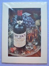 Large Brand New Dry Sack Sherry Framed & Certificated Advertising Poster