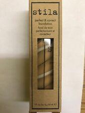 Stila Perfect and Correct Makeup Foundation - Tone 1 oz New In Box