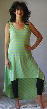 lime gray short sleeveless dress  one size s m l xl  womens fashion rayon za251