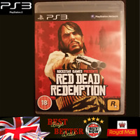 Red Dead Redemption PS3 Play Station 3 Game Complete with MAP & Manual FREE P&P