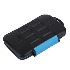Memory Card Case Holder for 8 x SDHC Cards MC-SD8 Waterproof Anti-shock    LN