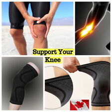 Compression Knee Brace Support Sports Sleeve Arthritis Joint Pain Large Size