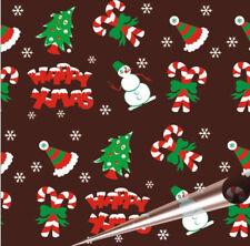 Happy Xmas Chocolate Transfer Sheets