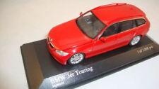 Coches, camiones y furgonetas de automodelismo y aeromodelismo MINICHAMPS color principal rojo BMW