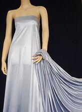Sheen Tactel Fabric Clearance Joblot Wholesale PQ Pigeon Blue R001 Sale