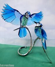 Blue Jays 2013 Swarovski Crystal Birds On Branch 1176149